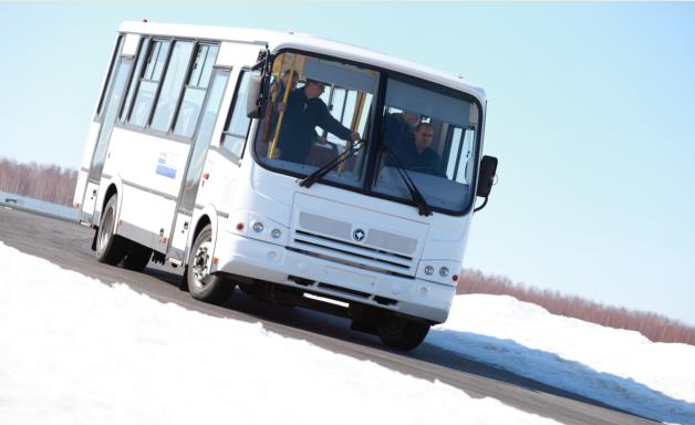 Buses tests for durability and reliability in Russia